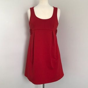 Red MICHAEL KORS jumper dress (with pockets!!)